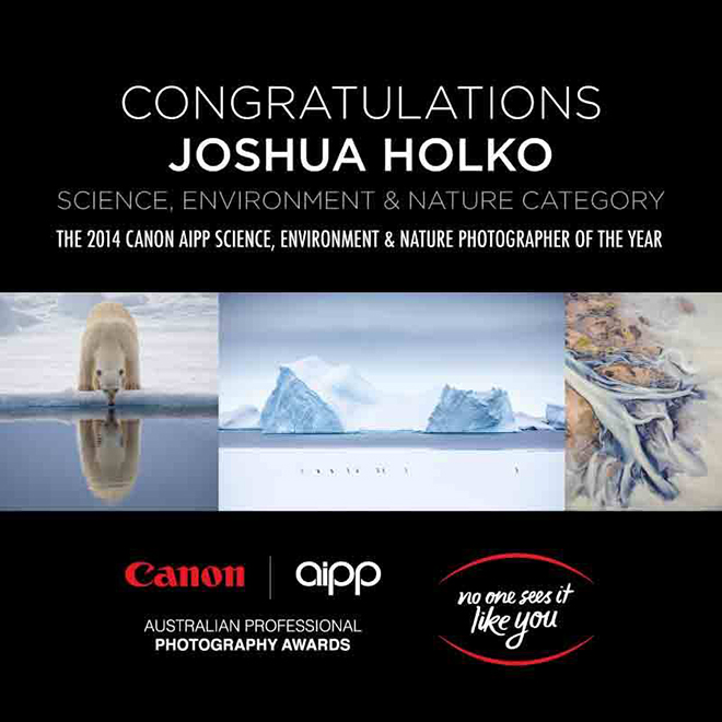 Australian Professional Photography Awards: Science, Environment and Nature Category Winner 2014