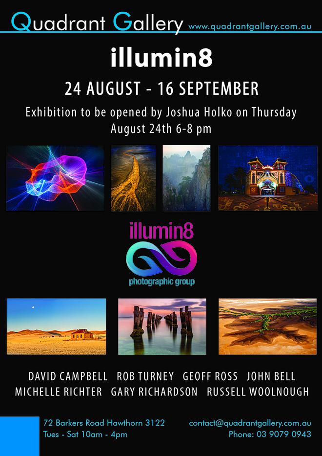 Quadrant Gallery – illumin8 Exhibition – Opened by Joshua